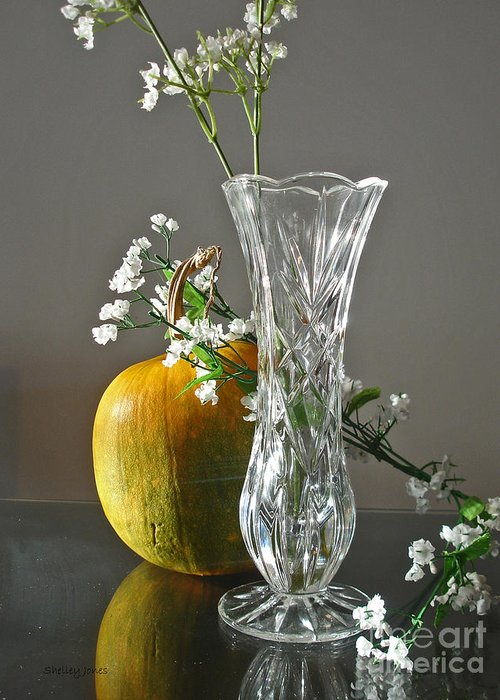 Still Life Greeting Card featuring the photograph Everlasting Harvest by Shelley Jones