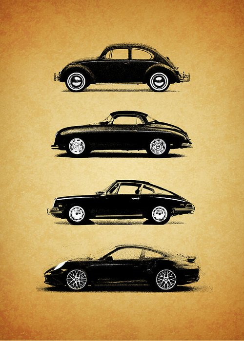 Volkswagen Photographs Greeting Cards