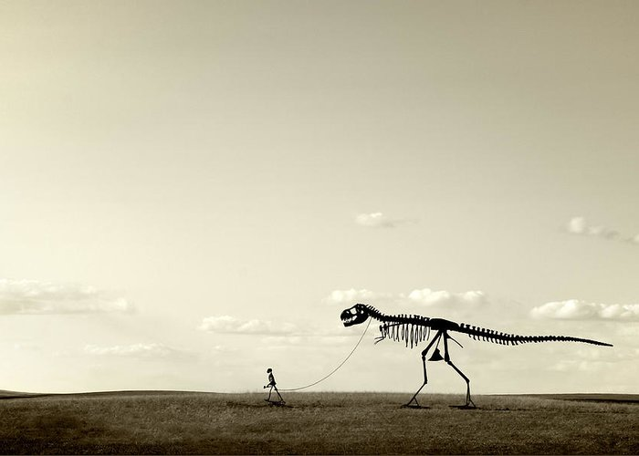 Extinct And Mythical Photographs Greeting Cards