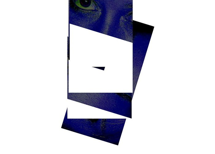 Greeting Card featuring the photograph Eye Abstract by Debbie May