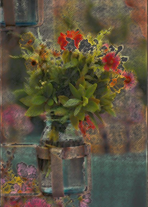 Flowers Greeting Card featuring the photograph Eye Candy by Danny Craig
