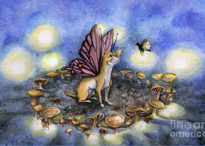 Faerie Paintings Greeting Cards