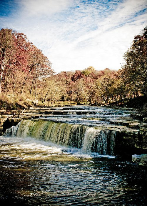 Landscape Greeting Card featuring the photograph Fall Fun by Melissa Riggs