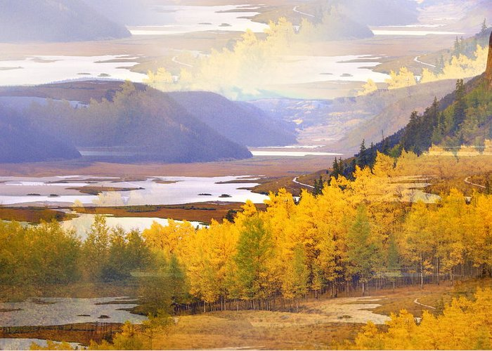 Fall Greeting Card featuring the photograph Fall In The Rockies by Marty Koch