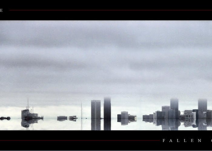 Atlanta Greeting Card featuring the photograph Fallen City by Jonathan Ellis Keys