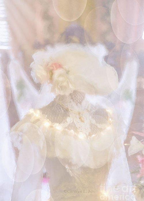Fantasy Greeting Card featuring the photograph Fantasy Bride by Carolyn Fox