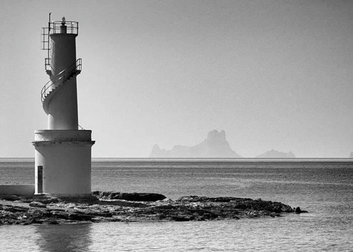 Balearics Greeting Card featuring the photograph Far De La Savina Lighthouse, Formentera by John Edwards