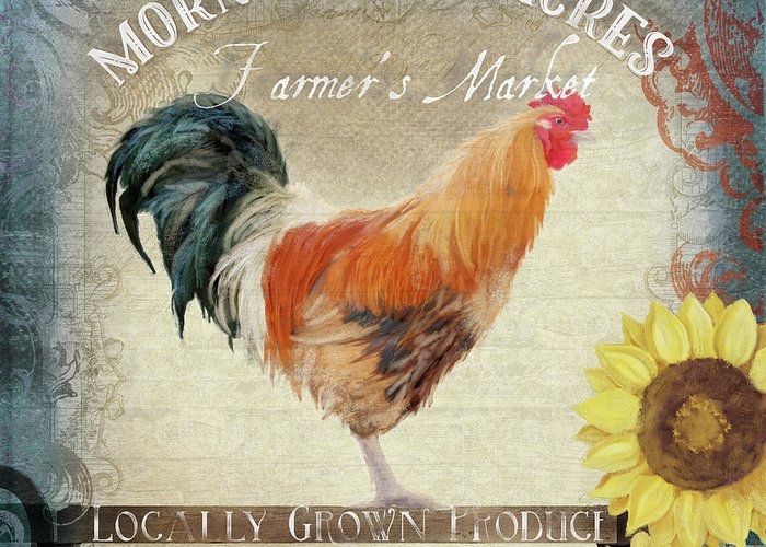 Locally Grown Paintings Greeting Cards