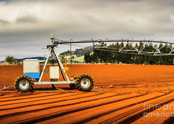 Machinery Greeting Card featuring the photograph Farming Field Equipment by Jorgo Photography - Wall Art Gallery