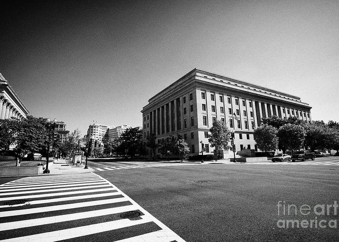 Federal Triangle Greeting Cards
