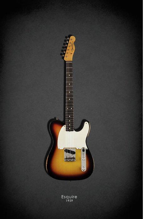 Fender Esquire Greeting Cards