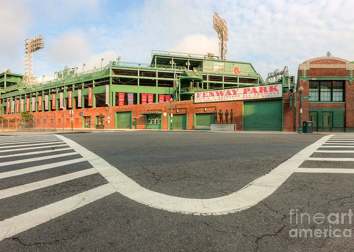 Clarence Holmes Greeting Card featuring the photograph Fenway Park IIi by Clarence Holmes