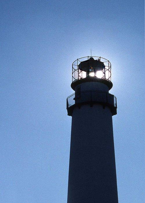 Fenwick Island Lighthouse Greeting Card featuring the photograph Fenwick Island Lighthouse by Skip Willits