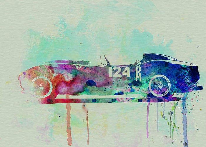 Italian Classic Cars Greeting Cards