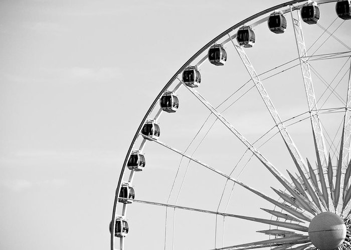Ferris Wheel Greeting Card featuring the photograph Ferris Wheel by Edward Myers