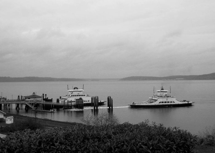 Nature Greeting Card featuring the photograph Ferry by Ty Nichols