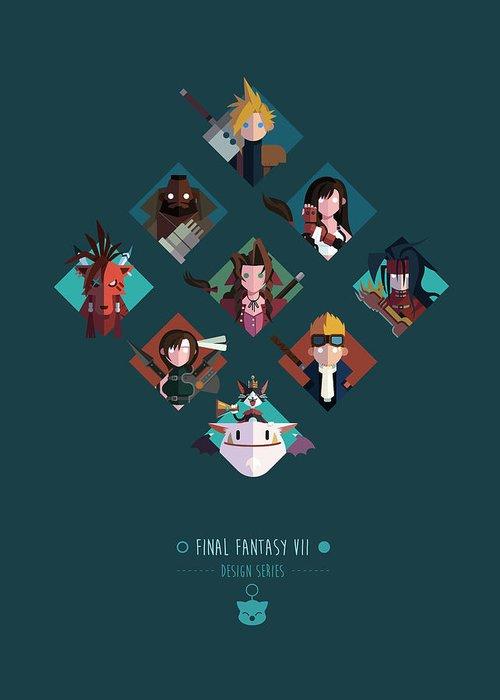 Final Fantasy Greeting Cards