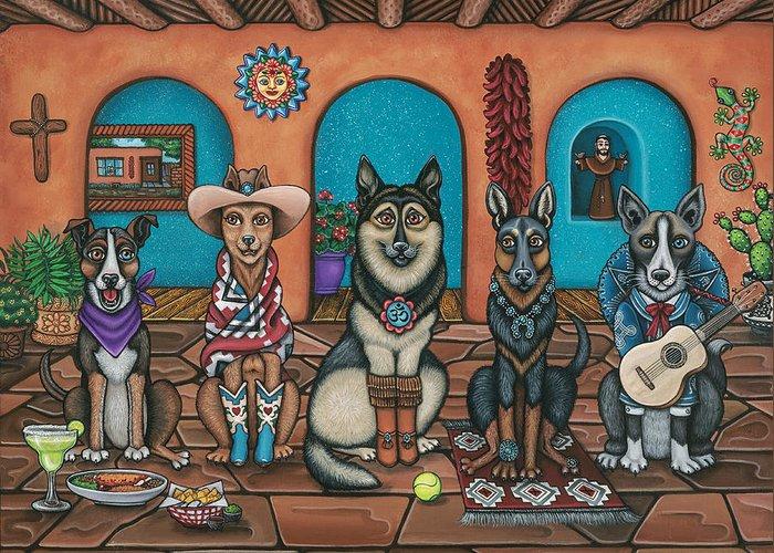 St Margarita Paintings Greeting Cards
