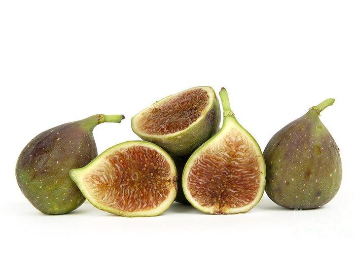 Fruit Greeting Card featuring the photograph Figs by Bernard Jaubert