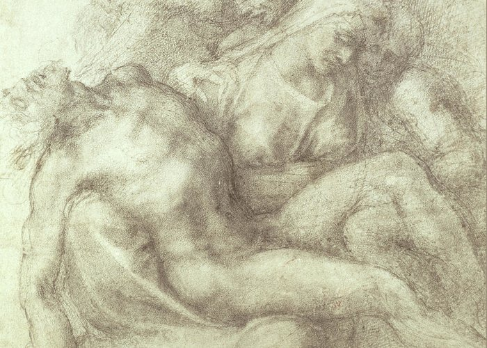 St Mary Magdalene Drawings Greeting Cards