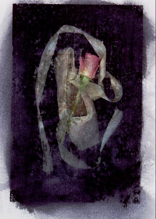 Ballet Greeting Card featuring the mixed media Finale by Bob Senesac