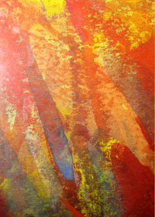 Fire Greeting Card featuring the photograph Firedance by Belinda Consten