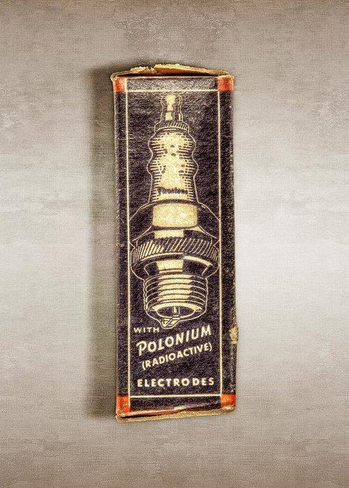 Vintage Spark Plugs Greeting Cards