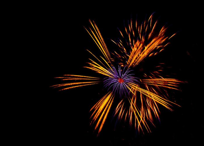 Firework Greeting Card featuring the photograph Firework Fun by Dawn OConnor