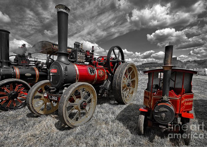 Steam Engines Greeting Cards