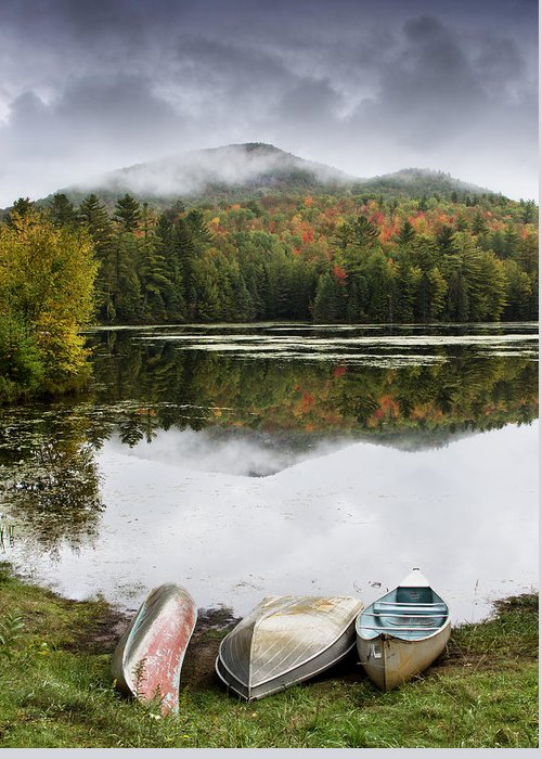 Adirondack Greeting Card featuring the photograph Flavor Of The Adirondacks by Brendan Reals
