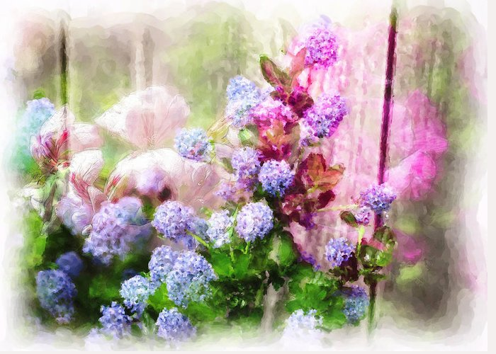 Flowers Greeting Card featuring the photograph Floral Merge 11 by Artzmakerz