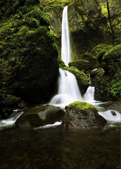 Northwest Greeting Card featuring the photograph Flow by Chad Dutson