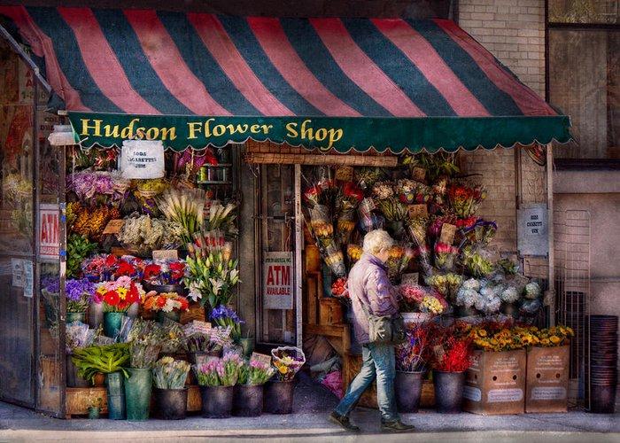 Online Flower Shop Greeting Cards