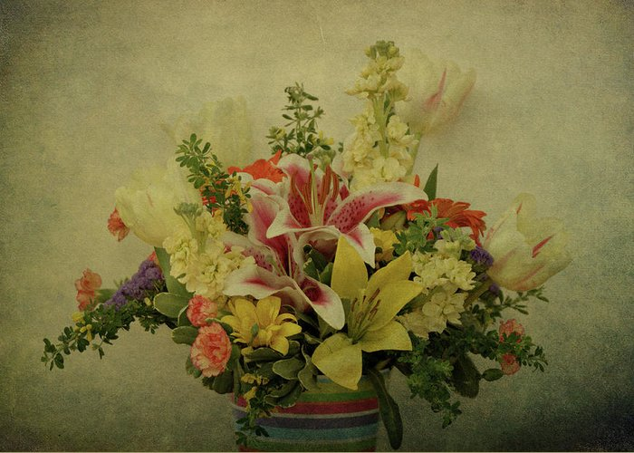 Flowers Greeting Card featuring the photograph Flowers by Sandy Keeton