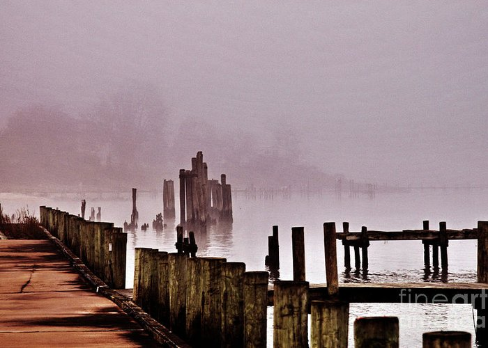 Clay Greeting Card featuring the photograph Foggy Morn by Clayton Bruster