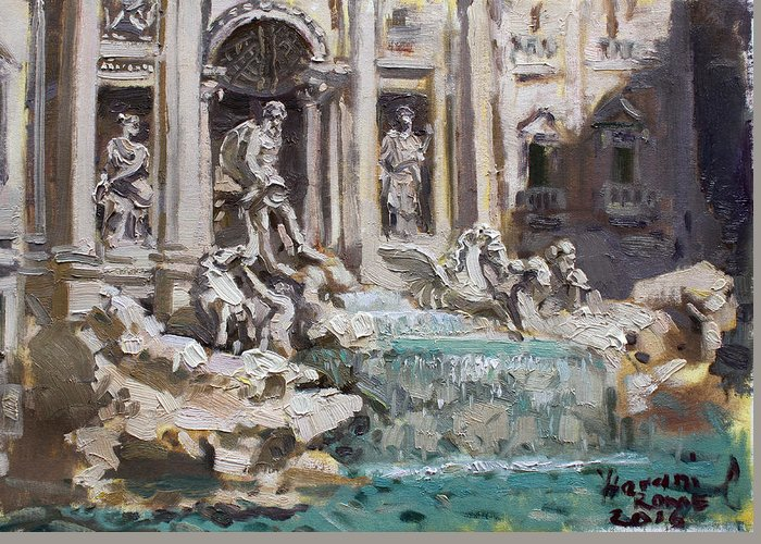 Trevi Greeting Cards