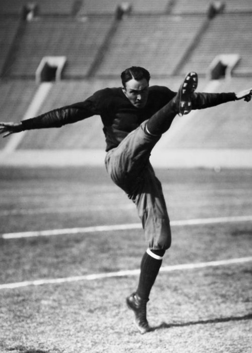 20th Century Greeting Card featuring the photograph Football, 20th Century by Granger