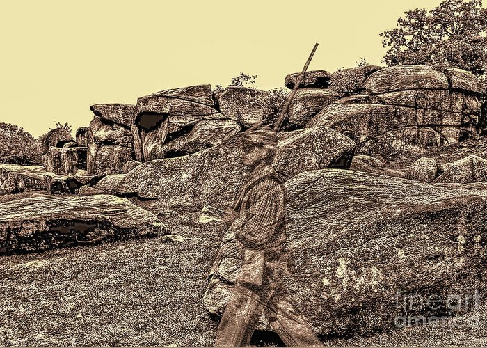 Devils Den Greeting Card featuring the photograph For Ever Watch At Devils Den by Tommy Anderson