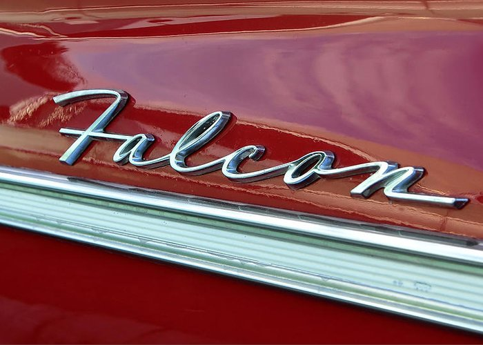 Fine Art Photography Greeting Card featuring the photograph Ford Falcon by David Lee Thompson