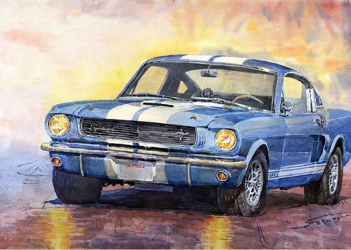 Gt-350 Greeting Cards