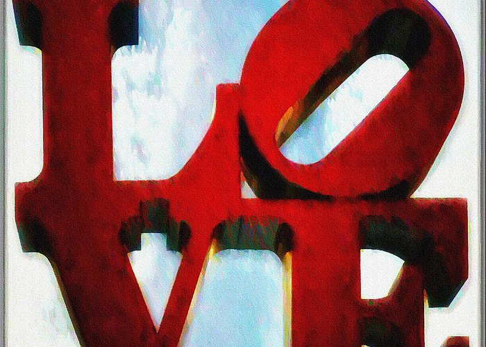 Love Greeting Card featuring the photograph Fountain Of Love by Bill Cannon