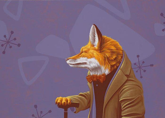 Fox Hunt Greeting Cards