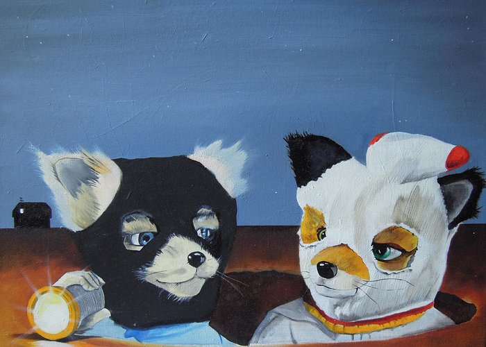 Foxes From The Movie Fantastic Mr Fox Painting By Ben Jackson