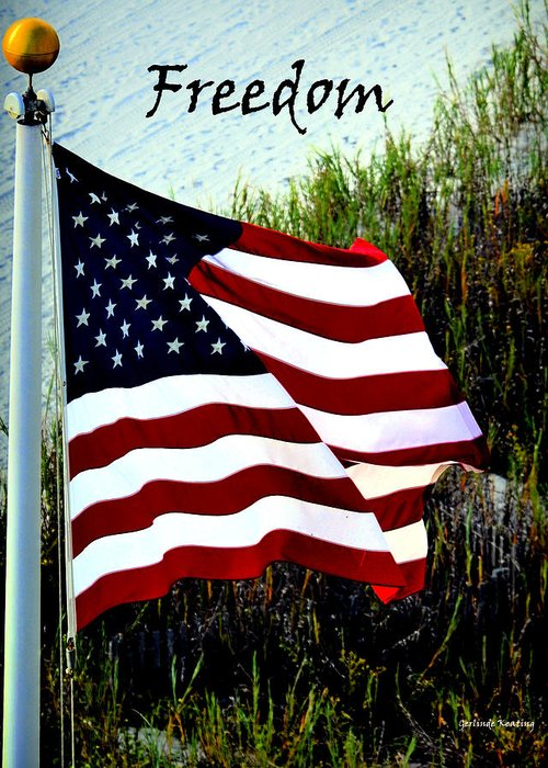 American_flag Greeting Cards