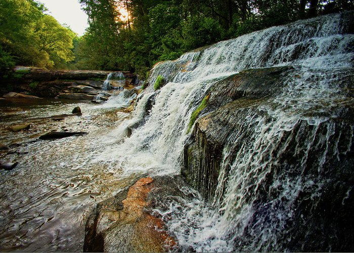 Mill Shoals Falls Greeting Cards