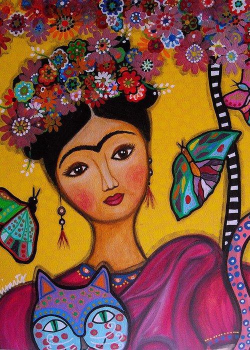 Frida Kahlo Greeting Card For Sale By Pristine Cartera Turkus
