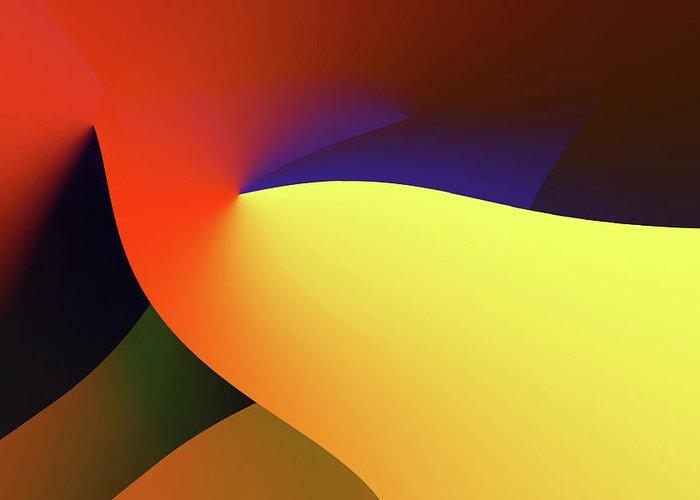Digital Greeting Card featuring the digital art Fusion Game - 3644 by Panos Pliassas