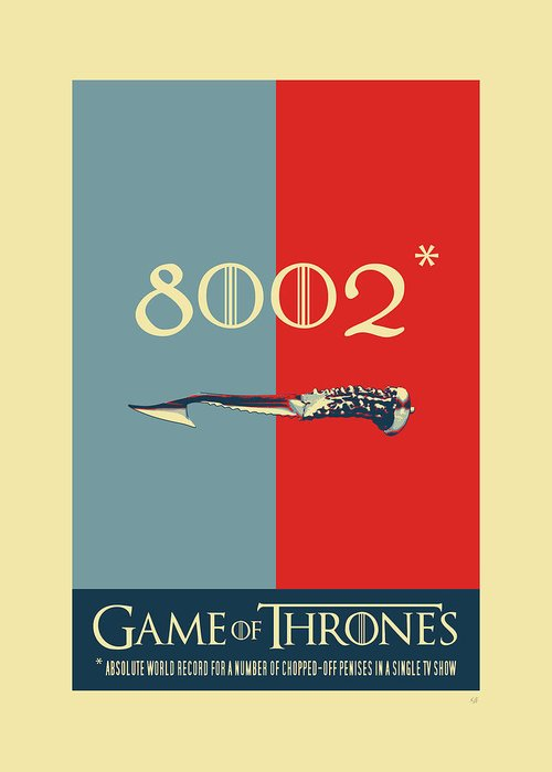 Game of thrones 8002 greeting card for sale by serge averbukh in stitches collection by serge averbukh greeting card featuring the digital art game of m4hsunfo