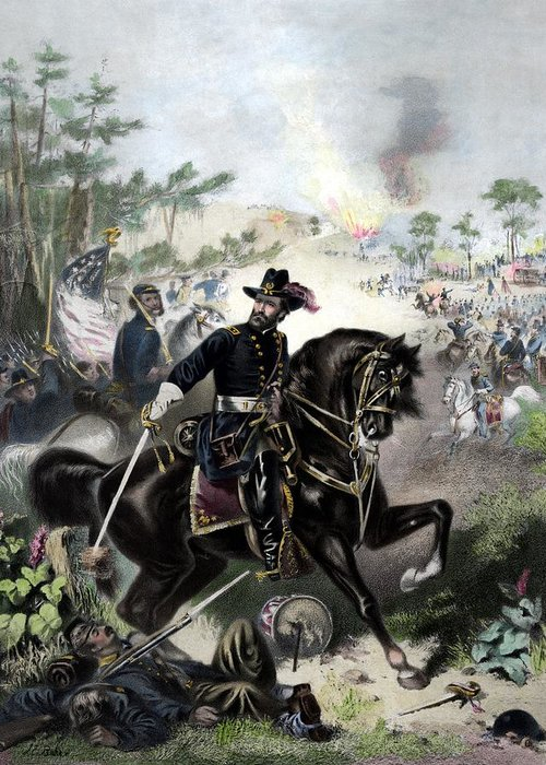 Designs Similar to General Grant During Battle