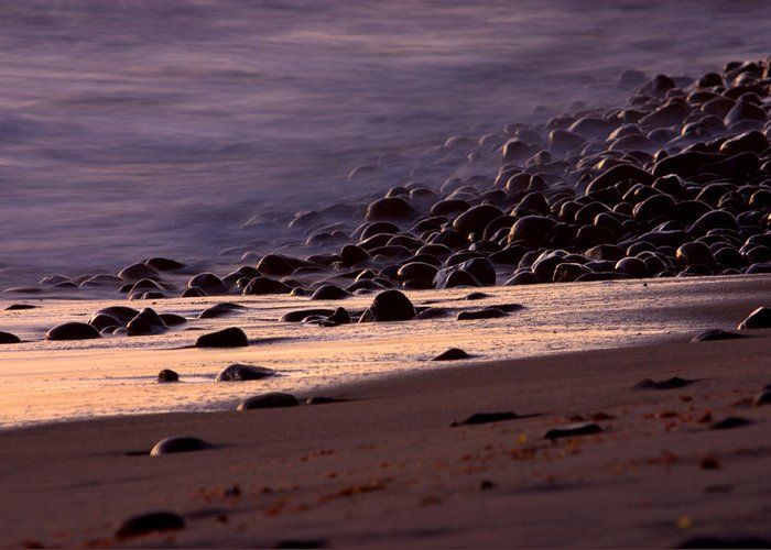 Landscape Greeting Card featuring the photograph Ghost Tide by Brad Scott